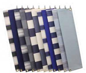 Verschillende soorten doeken van tibelly dickson of swela blauw grijs wit